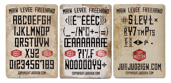 type western freehand