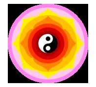 Mandala ying yang kit à coller